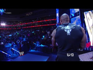 WWE Monday Night RAW 25.03.2013 (HD 720p) (русская версия от 545TV) часть 3/3